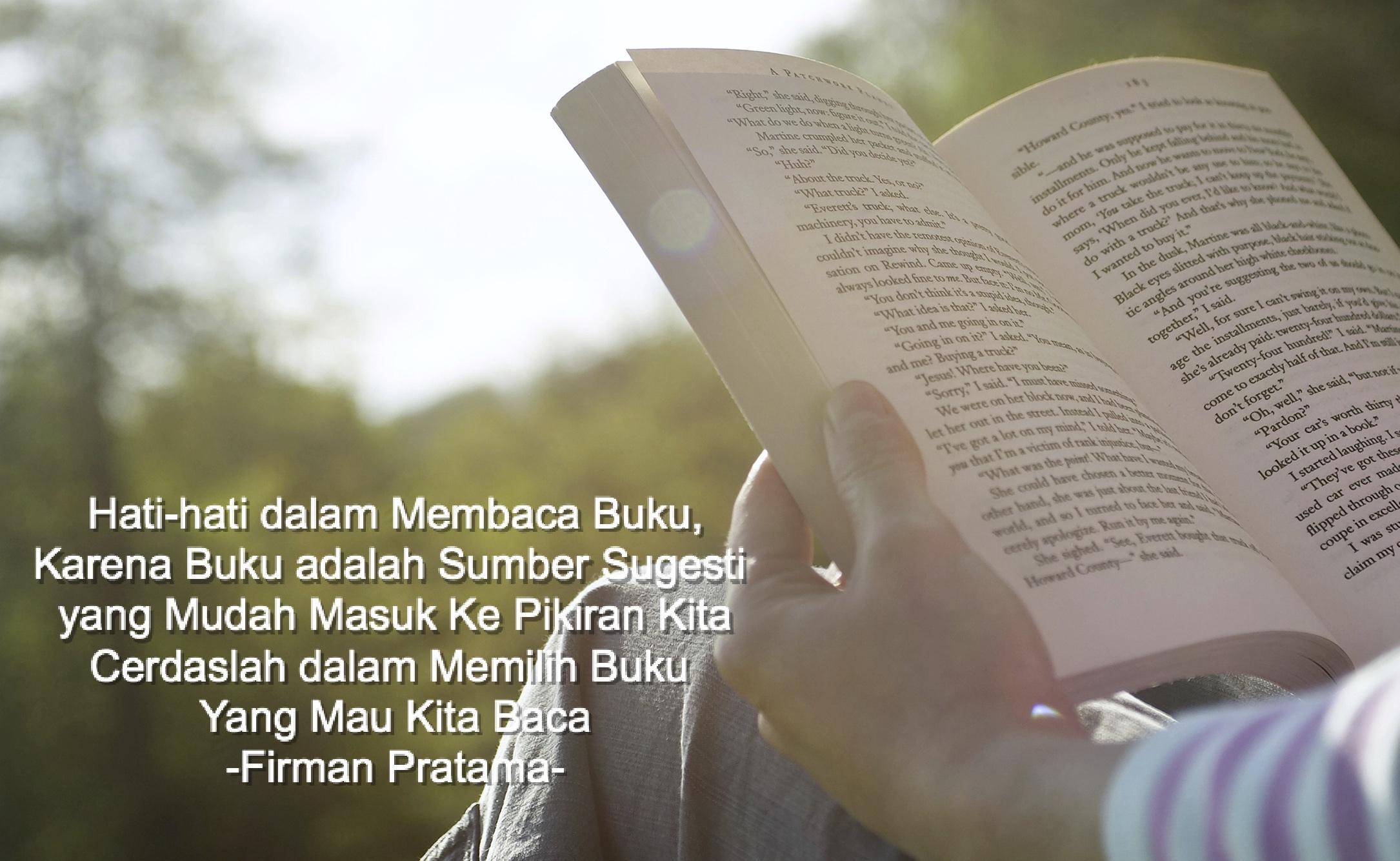 Caption Tentang Membaca Buku 6