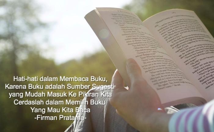 bahaya membaca buku